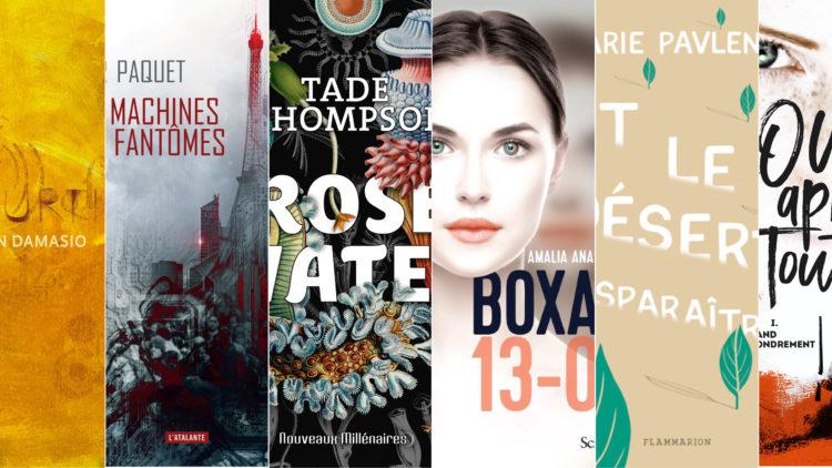 Sélection Prix littéraires Utopiales 2020